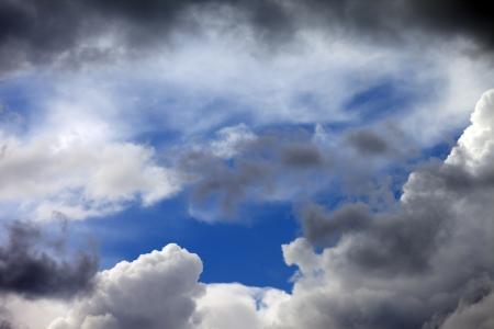 Rift in dark clouds Stock Photo - 14122002