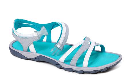 Summer sandal isolated on white background