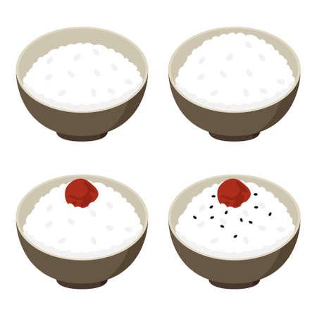 porridge: Vector illustration.Original paintings and drawing.
