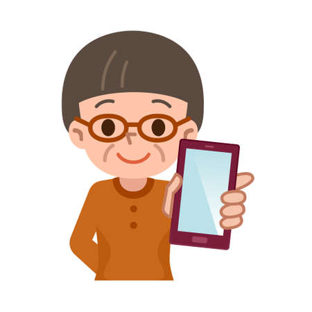 smartphone in hand: Vector illustration.Original paintings and drawing.