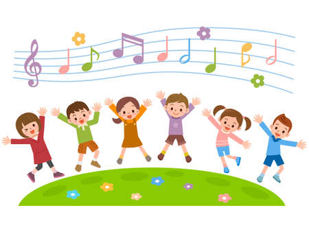 Image result for kids singing clipart free