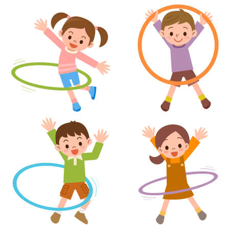 dětství: Vector illustration.Original obrazy a kreslení.