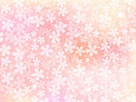 material flower: Background of pink flowers Illustration