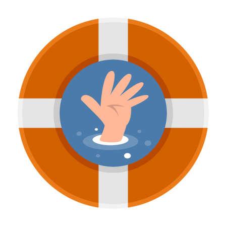 to drown: Las manos de personas que se ahogan