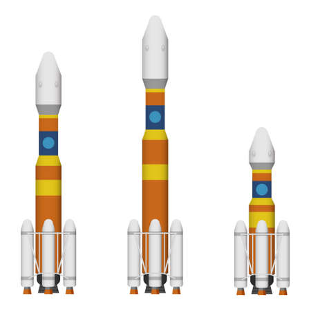 nuclear weapons: Rocket and missile Illustration