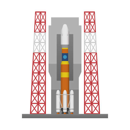 docking: Rocket launch pad