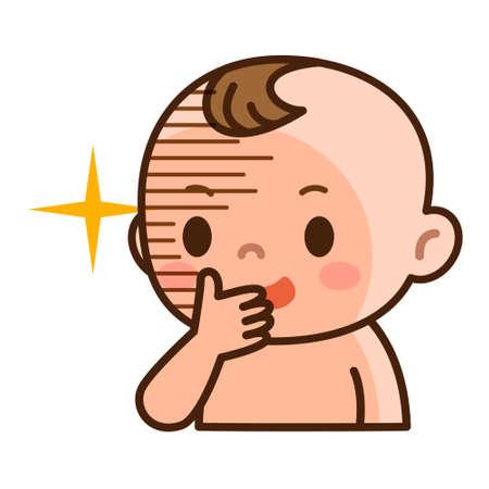 陰謀の赤ちゃん 写真素材 - 56653037