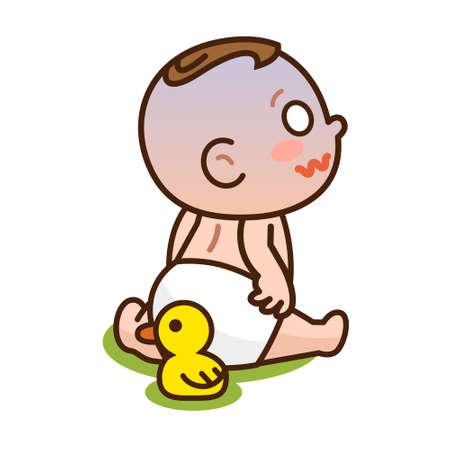 divulge: Baby divulge the poop