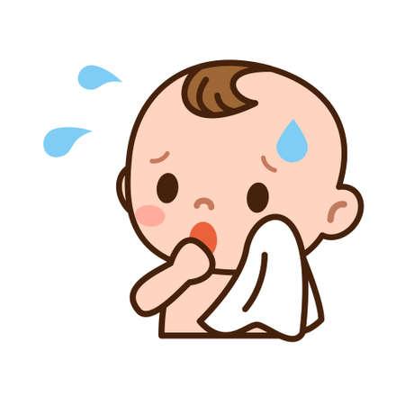 귀여운 아기 러시