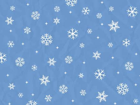 Hintergrund der Schneekristalle