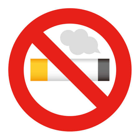 non: Illustration of Non smoking