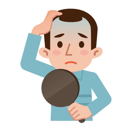 thinning: Trouble of thinning hair