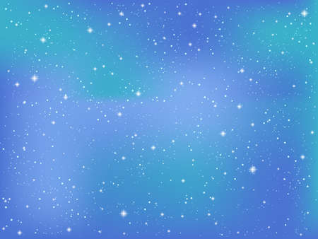 Night sky background Ilustrace