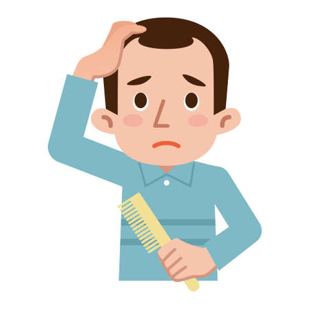 baldness: Trouble of thinning hair