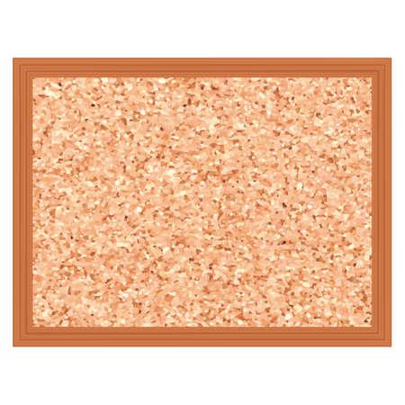 Illustration of corkboard