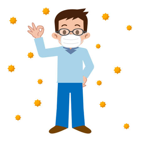 hay fever: Men who of hay fever prevention