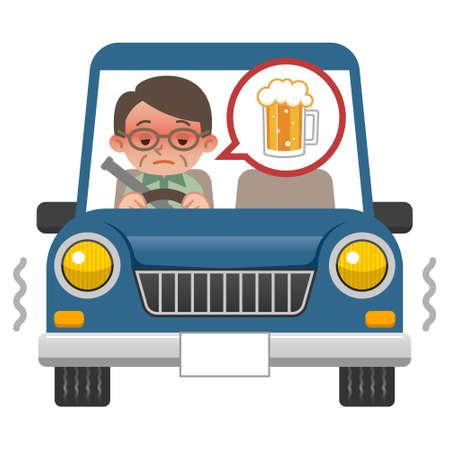 飲酒運転の実態男性