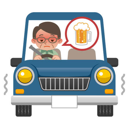 dont: Men who drink driving