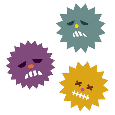 Illustration of weak virus