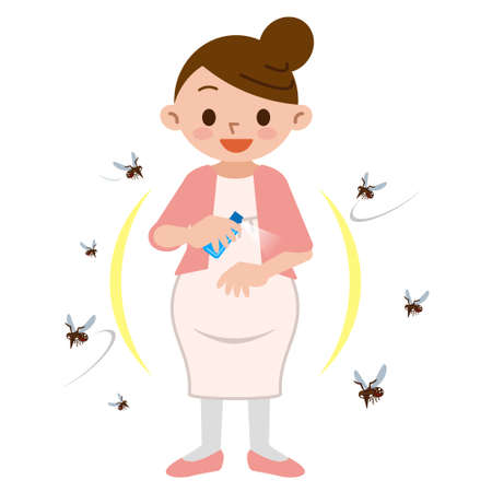 Pregnant women to spray insect repellent