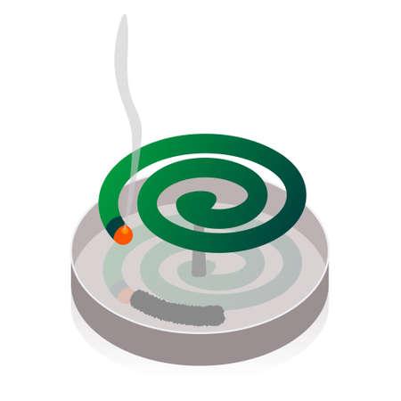 repellent: Mosquito repellent coil
