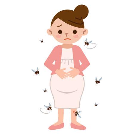 Mosquito en zwangere vrouwen