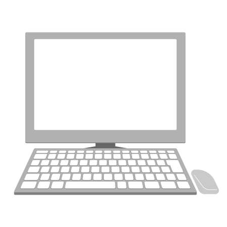 personal computer: Personal computer of Illustration