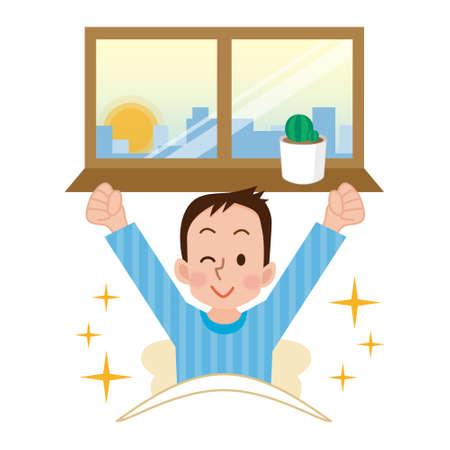 pyjama: Ability to wake up