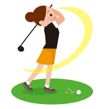 whiff: Woman to play the Golf