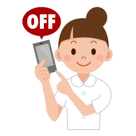 Switch on / off your mobile device