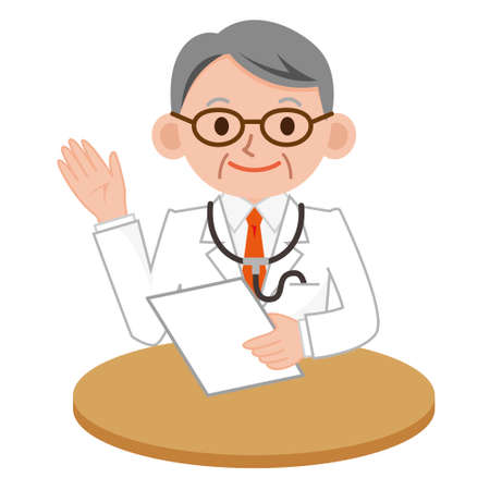 explains: Doctor who explains Illustration