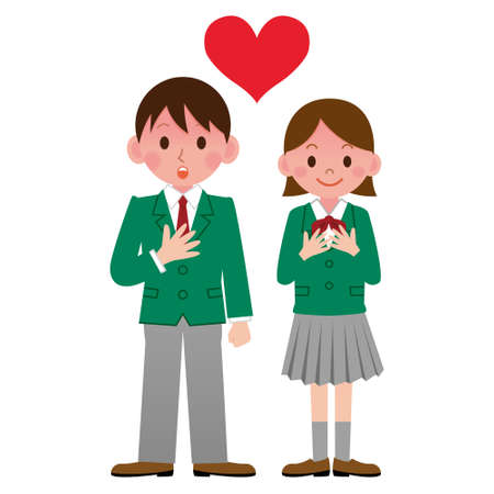 asian student: Student in love