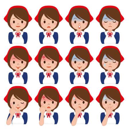 saleslady: Expression of multiple Saleslady