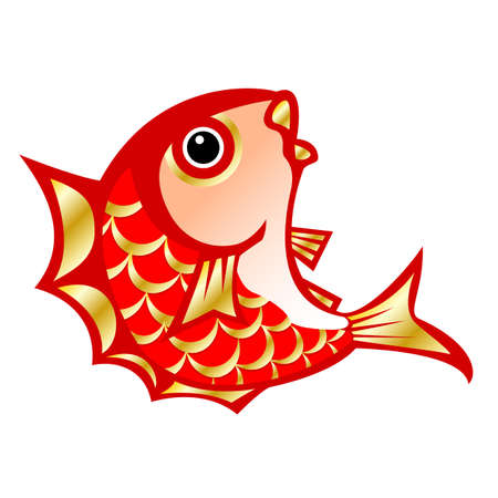 Illustration of sea bream