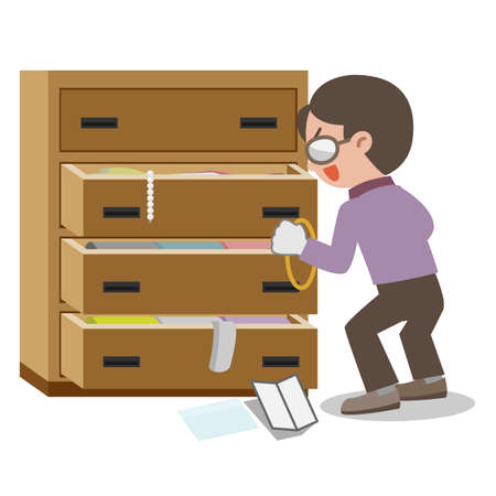 Illustration of Burglar