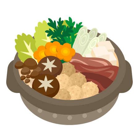 Illustration of casserole