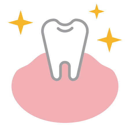 歯のイラスト  イラスト・ベクター素材