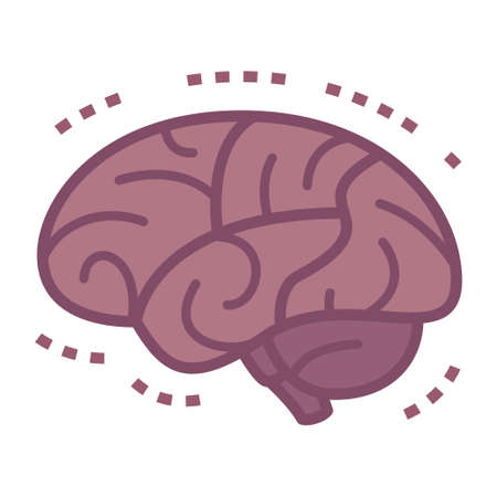 cva: Illustration of diseases of the brain