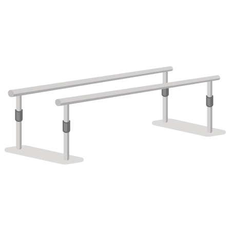 Rehabilitation parallel bars