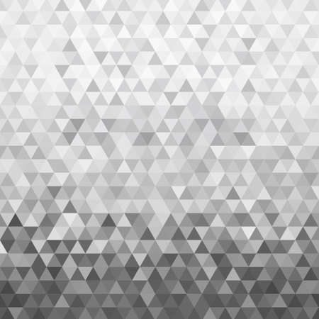 Black and white triangle pattern, background, texture  イラスト・ベクター素材
