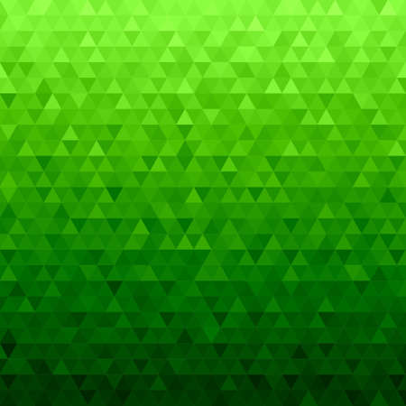 Abstract seamless green background from green triangles  イラスト・ベクター素材