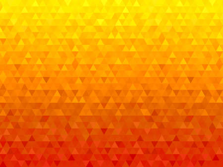 Abstract seamless orange background from orange triangles  イラスト・ベクター素材