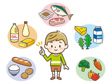 The five great nutrients and boys