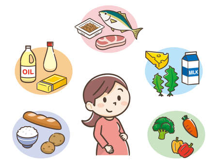 The five major nutrients and pregnant women