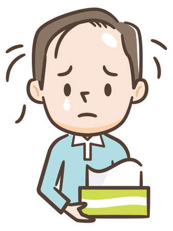 Men hair loss is worrisome
