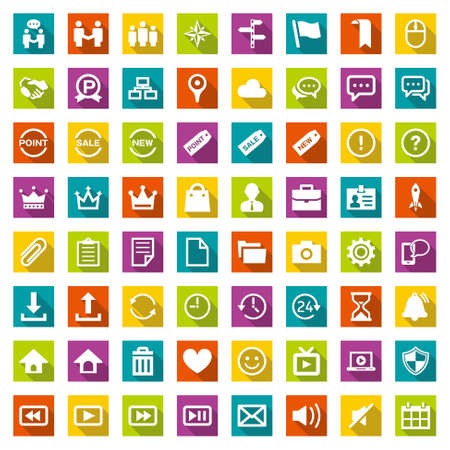 Design icon set suitable for info graphics, websites and print media.