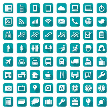 Design icon set suitable for info graphics, websites and print media. 일러스트