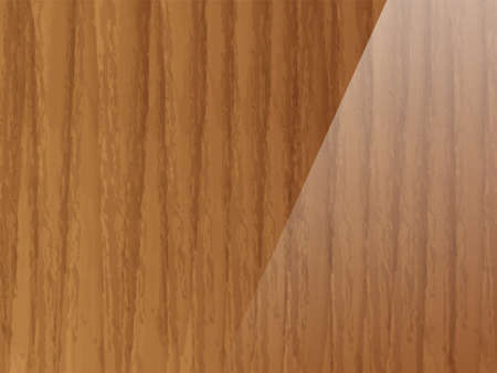 Brown wood texture. Abstract wood texture background. Ilustração