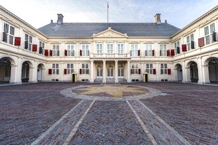 Noordeindepaleis, Nederlandse Koninklijke familiewoonplaats in Den Haag, Den Haag, Nederland Stockfoto