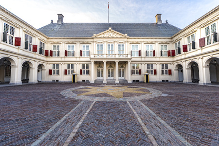 Noordeinde palace, Dutch Royal family residence in The Hague, Den Haag, Netherlands